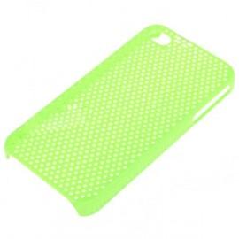 Zadný kryt sieťovaný pre iPhone 4/4S zelený