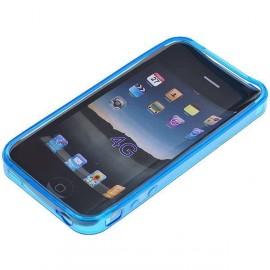 Ochranné silikónové puzdro pre Apple iPhone 4 - modré