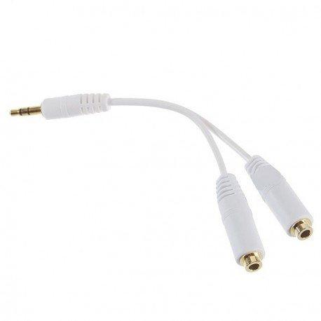 Y-audio kábel 3.5mm splitter