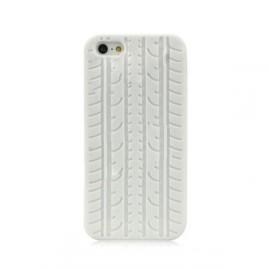 Ochranné silikónové púzdro pre iPhone 5 - biele
