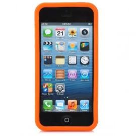 Ochranné silikónové púzdro pre iPhone 5 - oranžové