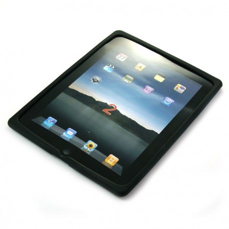 Extra tenký silikónový obal pre iPad 2 - čierny