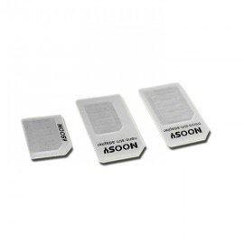 4 v 1 nano SIM na micro SIM adaptér a micro SIM to Standard SIM adaptér