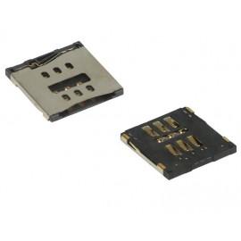 Náhradný slot pre nano SIM kartu pre iPhone 5 - náhradný diel