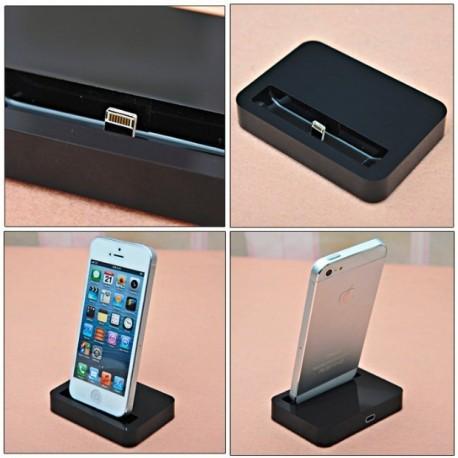 Dock station pre iPhone 5/5s/5c - čierny