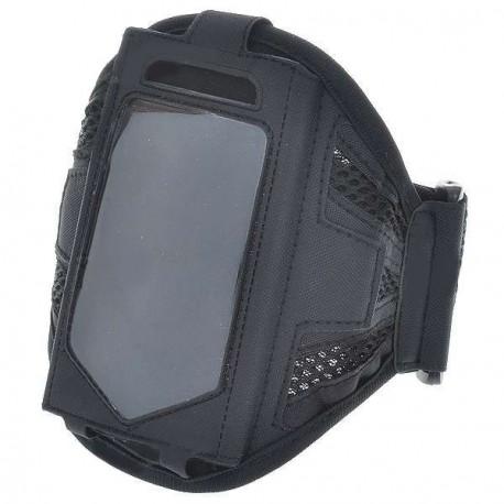 Športové púzdro na ruku pre iPhone 4 - čierne