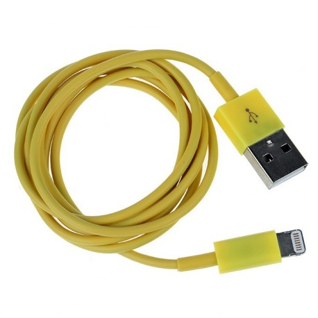 Kábel Lightning to USB 1m žltý