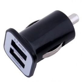 Dual-USB autonabíjačka 2,1A + 1A 12V ~ 24V