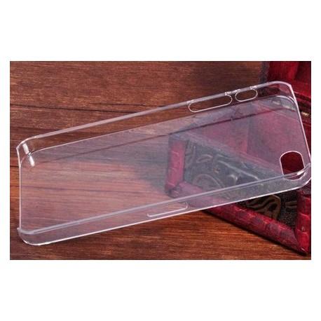 iPhone 5/5S zadný ochranný kryt - priehľadný - matný