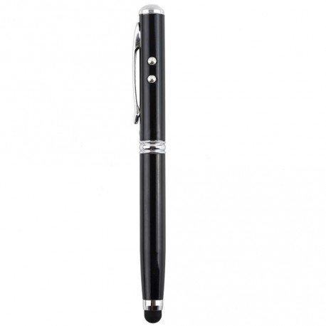 4v1 Laser LED Pero Stylus čierne