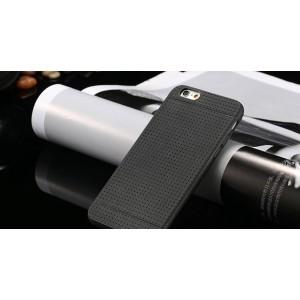 Čierny silikónový zadný kryt pre iPhone 6 Plus