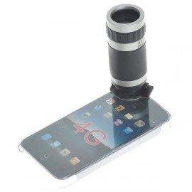 Objektív s 6x zväčšením so zadným krytom pre iPhone 4