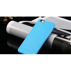 Modrý silikónový zadný kryt pre iPhone 6 Plus