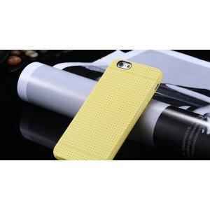 Žltý silikónový zadný kryt pre iPhone 6/6S