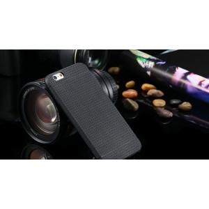Čierny silikónový zadný kryt pre iPhone 6/6S
