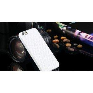 Biely silikónový zadný kryt pre iPhone 6/6S