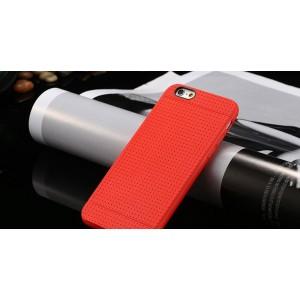 Červený silikónový zadný kryt pre iPhone 6 Plus