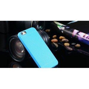Modrý silikónový zadný kryt pre iPhone 6/6S