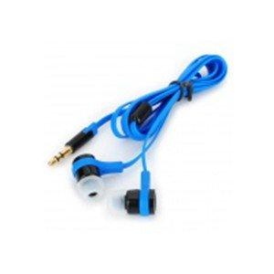 Štýlové in-Ear slúchadlá - modrá + čierna 3,5 mm jack / 110 cm