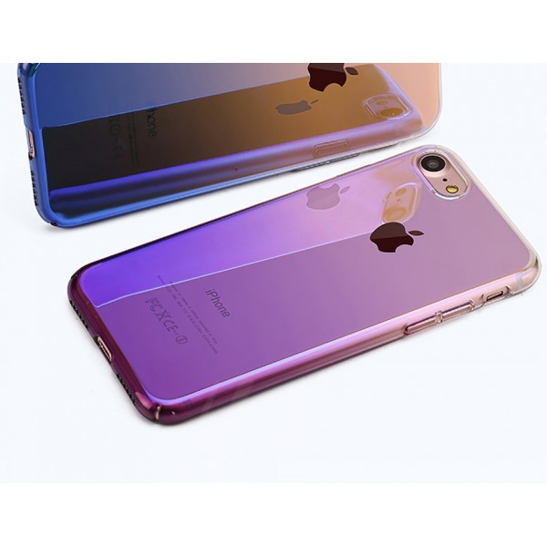 iPhone 6 Plus zadný kryt Blue-ray gradient fialový