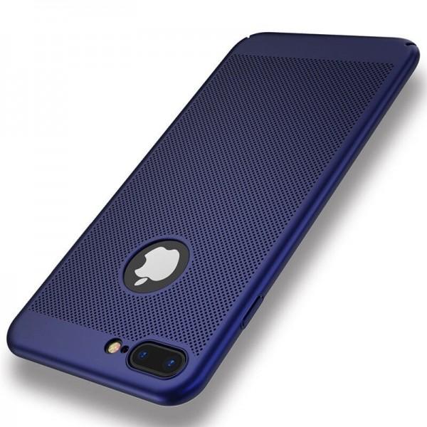 iPhone 7/8 zadný MESH kryt modrý