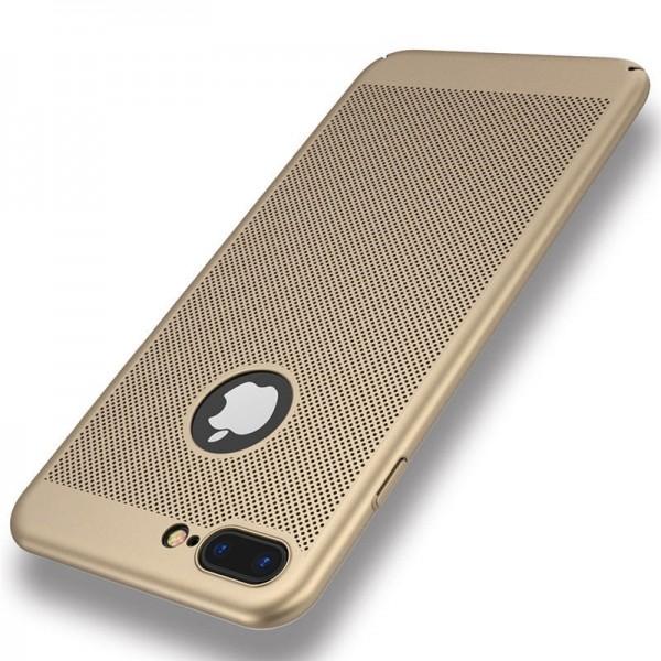 iPhone 7/8 zadný MESH kryt zlatý