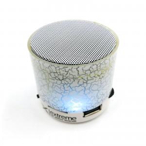 Extreme XP101W bluetooth reproduktor s FM rádiom a MP3/MP4 prehrávač biely