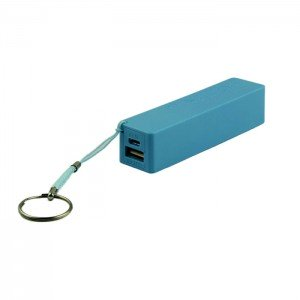 USB Power Banka na 1x 18650 batériu modrá