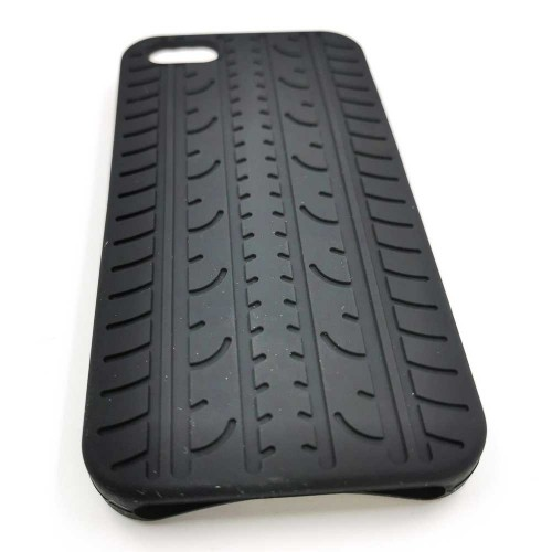 Ochranné silikónové púzdro pre iPhone 5 - čierne