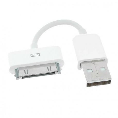 Krátky 4,75 cm nabíjací a dátový kábel pre iPhone 4