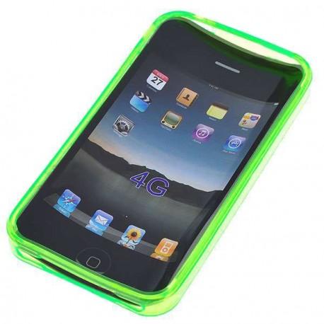 Ochranné silikónové puzdro pre Apple iPhone 4 - zelené