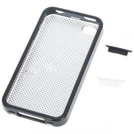 Ochranné puzdro pre iPhone 4 s protiprachovou krytkou čierne