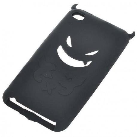 Ochranné silikónové púzdro pre iPod Touch 4 - čierne