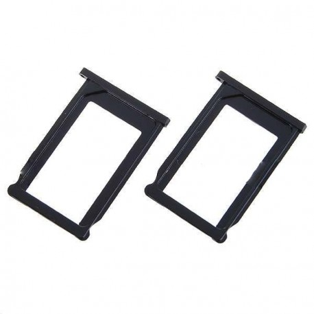 SIM slot pre iPhone 3G/3GS 2ks čierny - náhradný diel