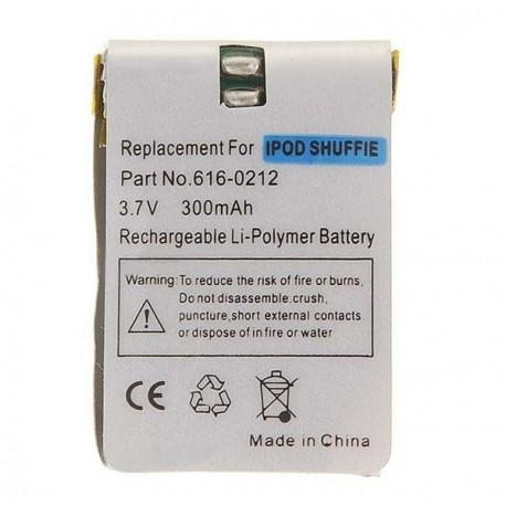 300mAh Lithiová batéria s náradím pre iPod Shuffle