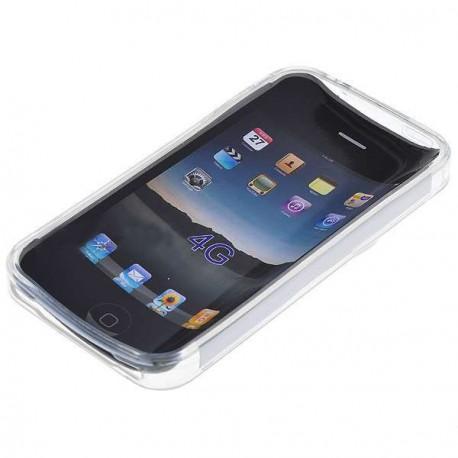 Ochranné silikónové puzdro pre iPhone 4 - biele