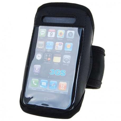 Športové púzdro na ruku pre iPhone 2G/3G/3GS čierne