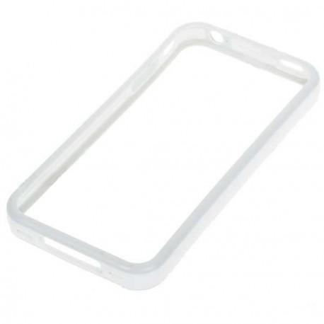 Štýlový Ochranný rám pre iPhone 4 - biely
